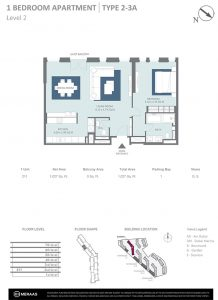 1-Bedroom-Apartment-Type-2-3A-Level-