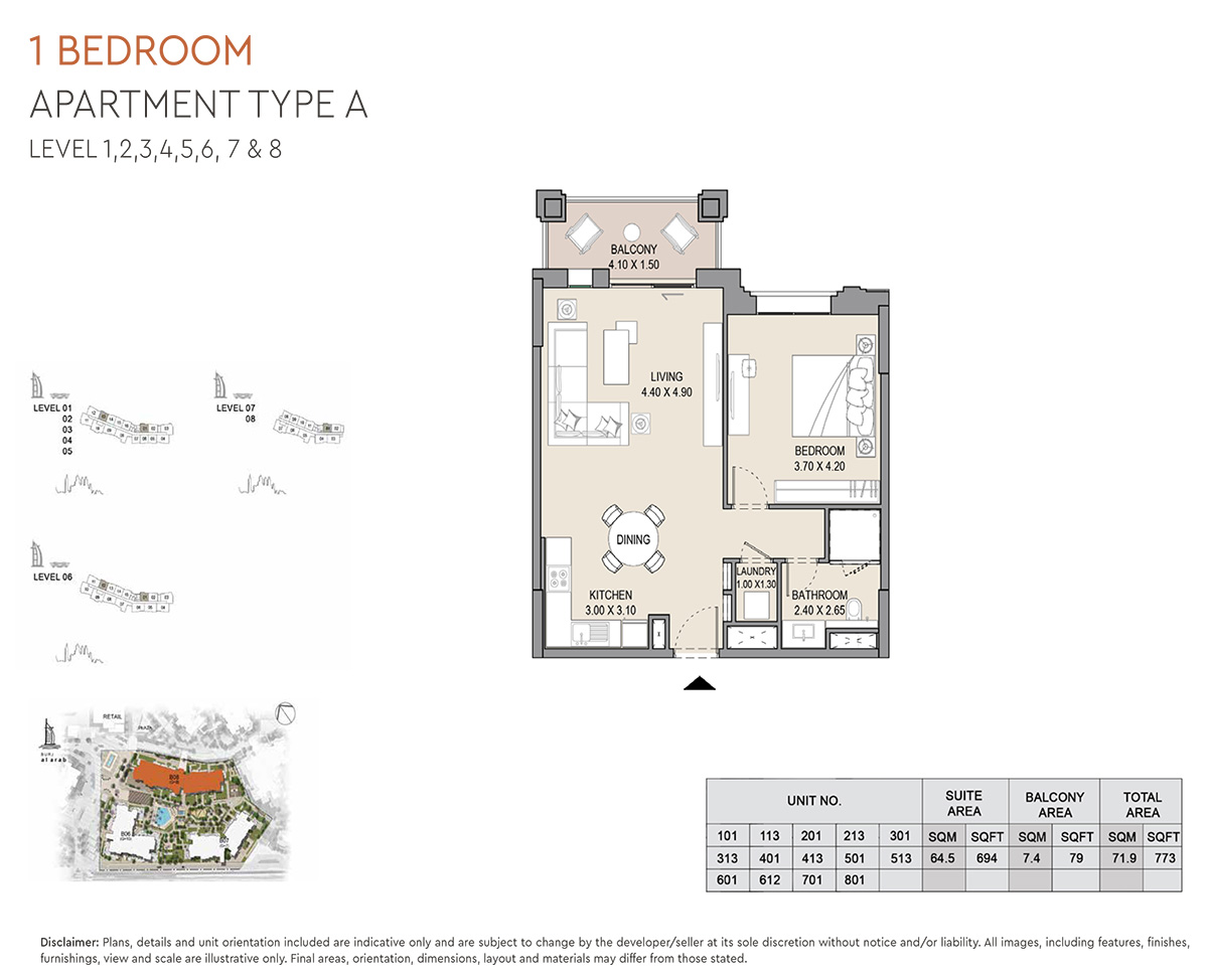 https://drehomes.com/wp-content/uploads/1-Bedroom-Apartment-Type-A-Level-1-8-773-SqFt-2.jpg