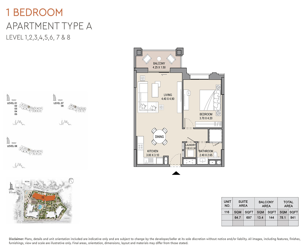 https://drehomes.com/wp-content/uploads/1-Bedroom-Apartment-Type-A-Level-1-8-841-SqFt-2.jpg