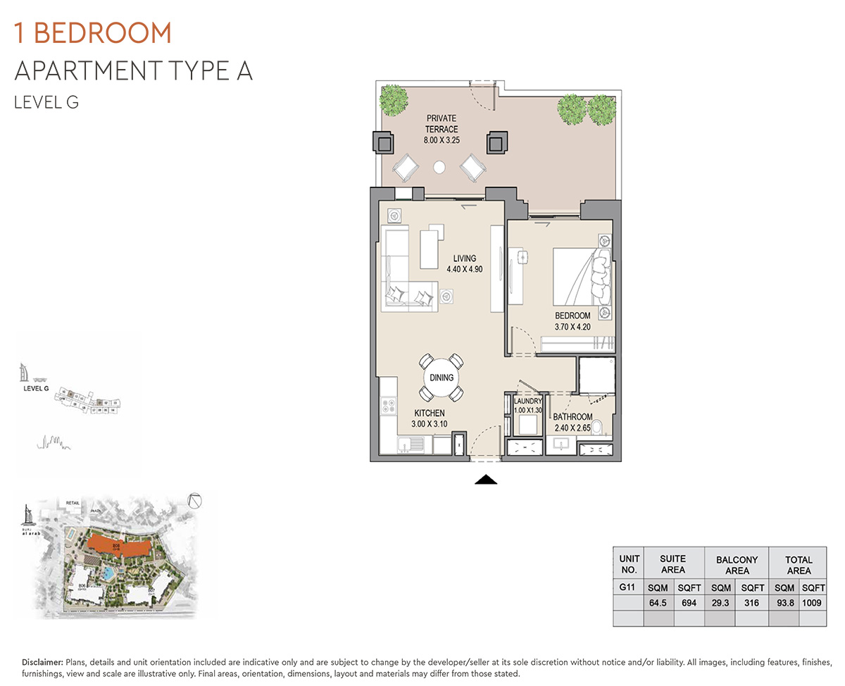 https://drehomes.com/wp-content/uploads/1-Bedroom-Apartment-Type-A-Level-G-1009-SqFt-2.jpg