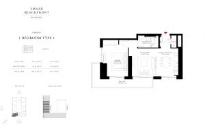 Emaar Beach Isle Floor Plan