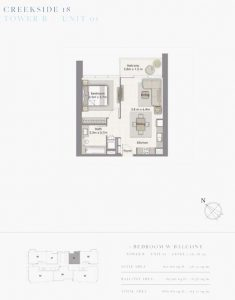 1-Bedroom-W-Balcony-Tower-B-Unit-01-680-SqFt