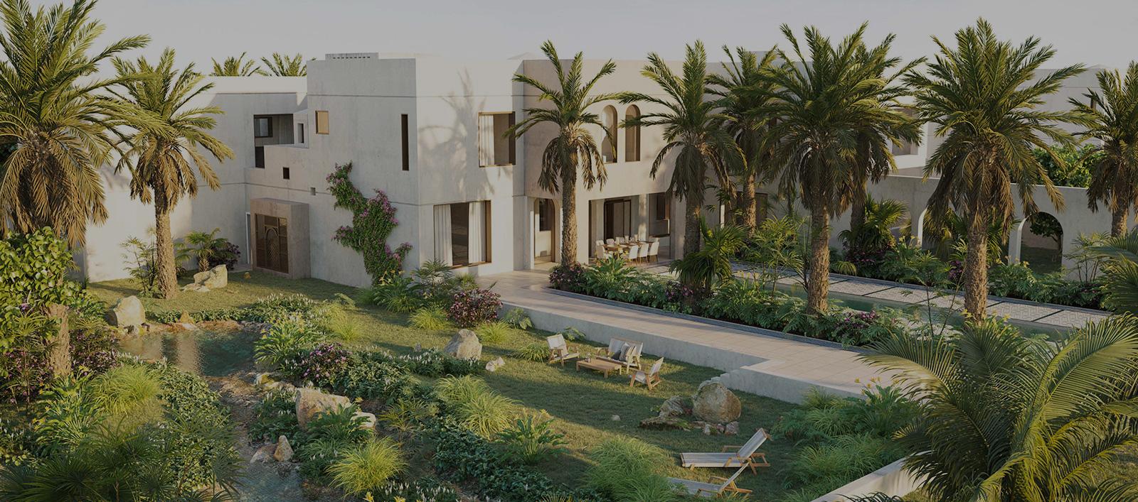 joud villas at aljurf gardens