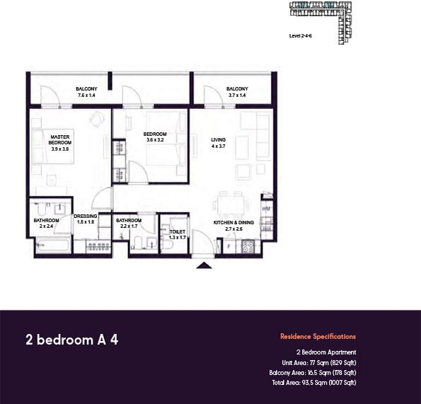 https://drehomes.com/wp-content/uploads/2-Bedroom-A4-1007SqFt.jpg