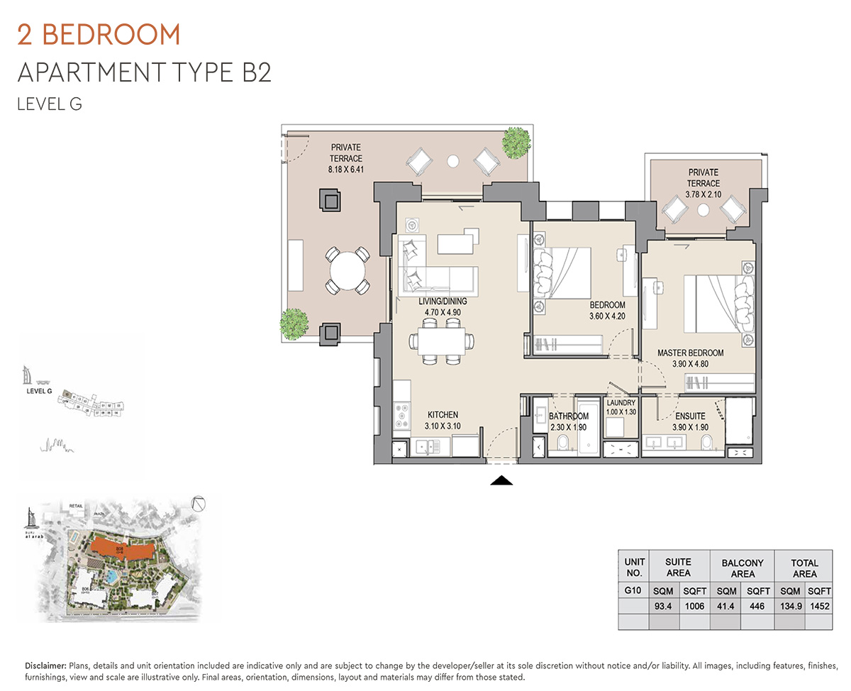 https://drehomes.com/wp-content/uploads/2-Bedroom-Apartment-Type-B2-Level-G-1452-SqFt-2.jpg