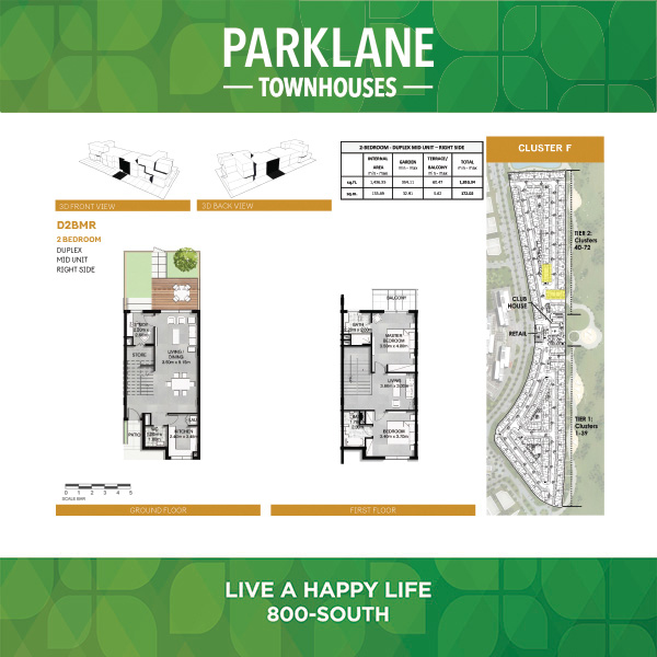 2 Bedroom Dd2bmr Parklane Townhouses