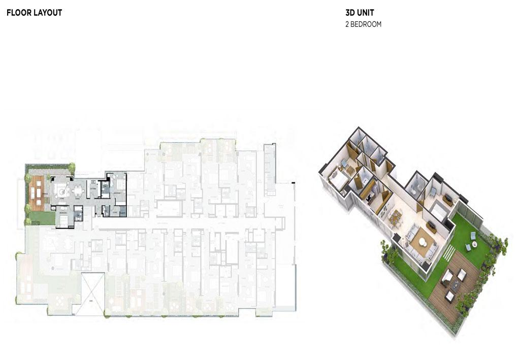 2 Bedroom Floor Layout 1
