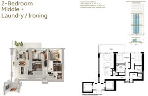 2-Bedroom-Middle-Laundry-Ironing-1647-SqFt