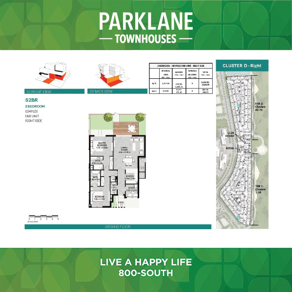 2 Bedroom Ss2br Parklane Townhouses