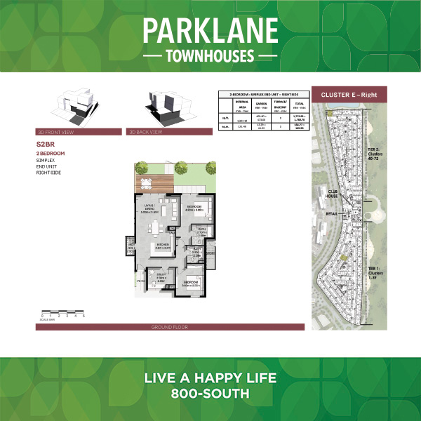 2 Bedroom Ss2brg Parklane Townhouses
