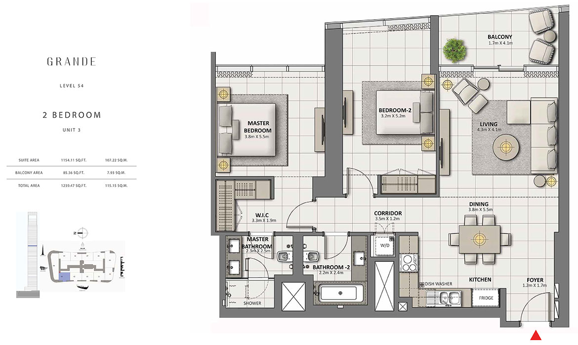 https://drehomes.com/wp-content/uploads/2-Bedroom-Unit-3-Level-54-1239.47-SqFt.jpg