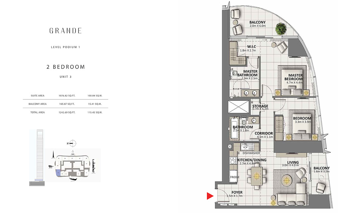 https://drehomes.com/wp-content/uploads/2-Bedroom-Unit-3-Level-Podium-1-1242.69-SqFt.jpg