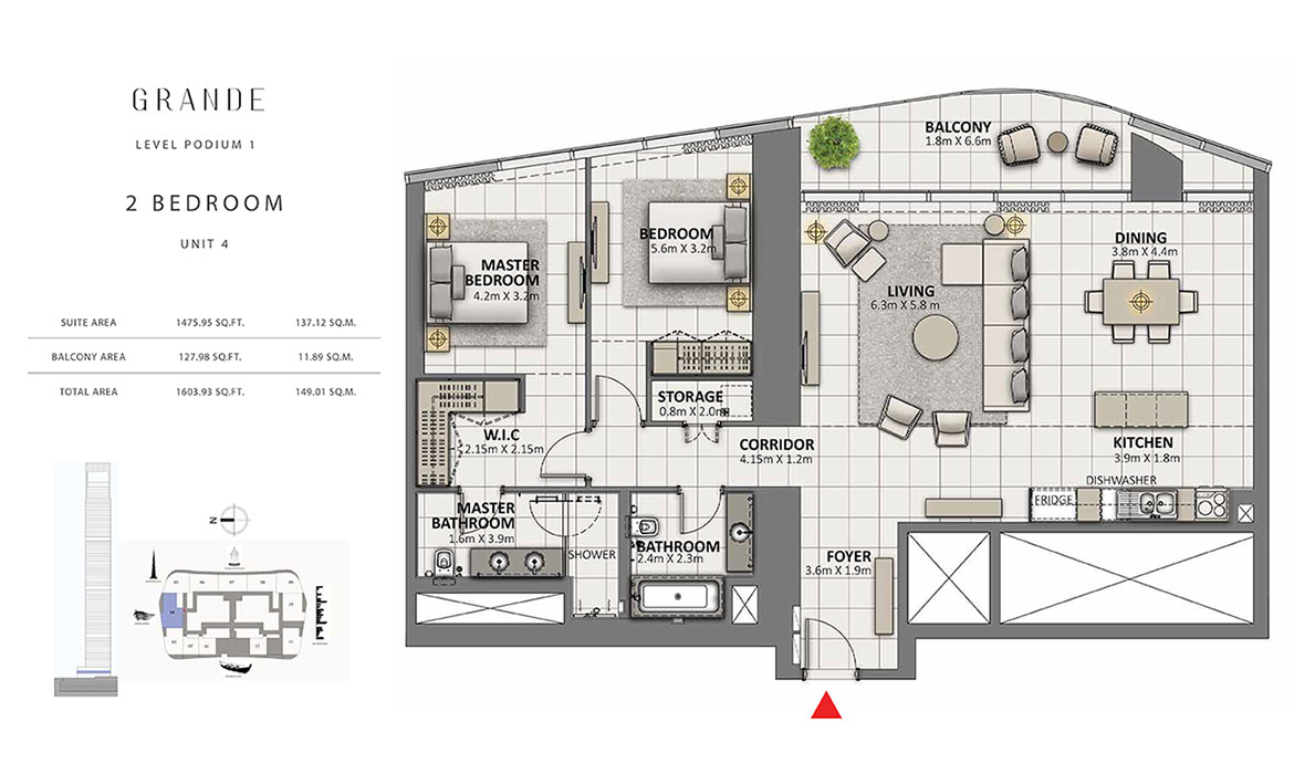 https://drehomes.com/wp-content/uploads/2-Bedroom-Unit-4-Level-Podium-1-1603-93-SqFt.jpg