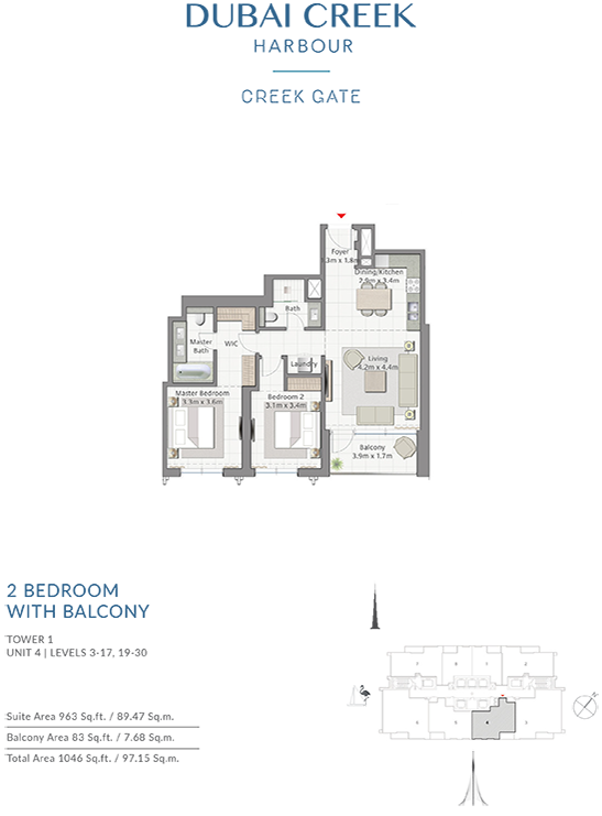 https://drehomes.com/wp-content/uploads/2-Bedroom-With-Balcony-Tower-1-Unit-4-Levels-3-1719-30-1046-SqFt.png
