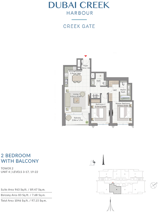 https://drehomes.com/wp-content/uploads/2-Bedroom-With-Balcony-Tower-2-Unit-4-Levels-3-1719-22-1046-SqFt.png