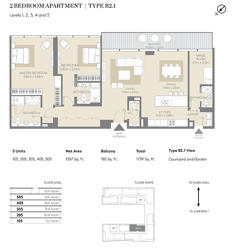https://drehomes.com/wp-content/uploads/2-Bemroom-Apartment-Type-B2.1-1739-SqFt.jpg