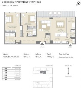 2-Bemroom-Apartment-TypeB2.2-1757-SqFt