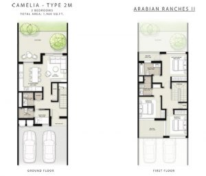 Camelia Townhouses Floor Plan