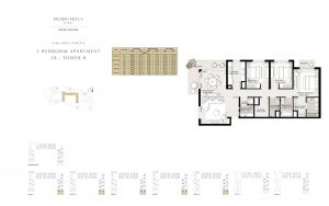 3 Bedroom Apartment Tower B 1587.78sqft