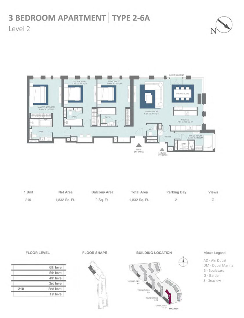 https://drehomes.com/wp-content/uploads/3-Bedroom-Apartment-Type-4-6A-Level-2-1832SqFt.jpg