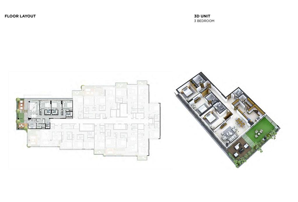 3 Bedroom Floor Layout 1