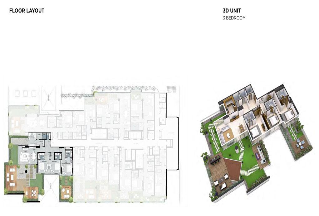 3 Bedroom Floor Layout 3