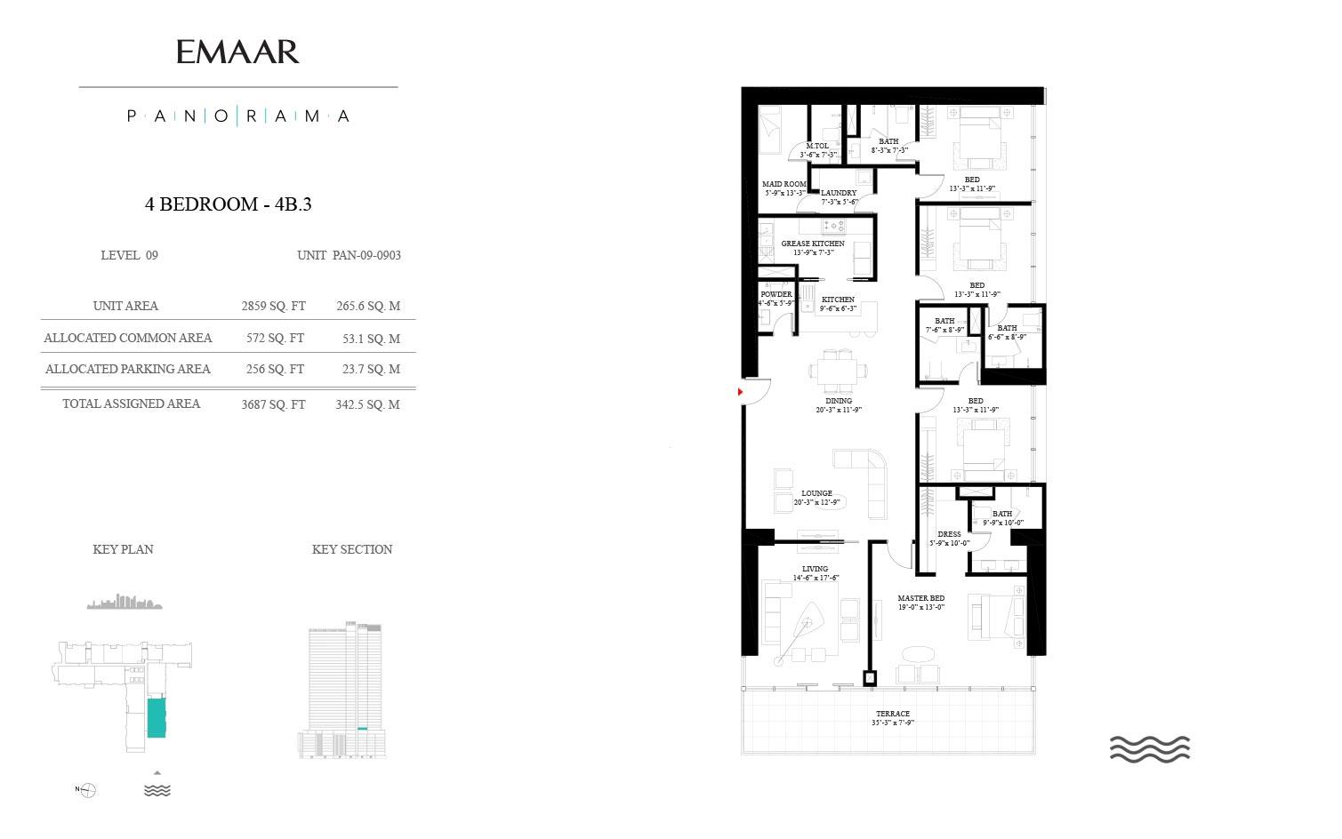 Panorama Residences Floor Plans