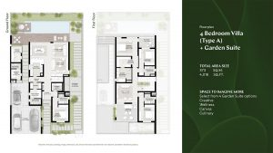 4 Bedroom Villa Type A Garden Suite 4016sqft