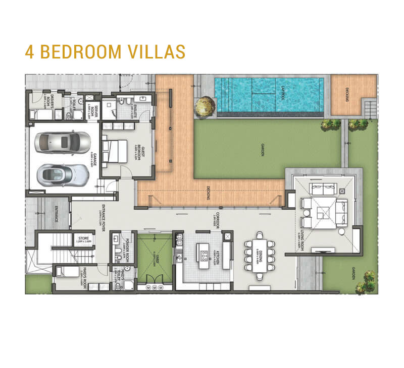 4 Bedroom Layer 5