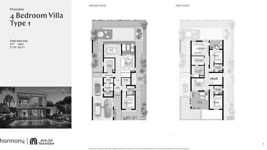 4 Bedroom Villa Type 1