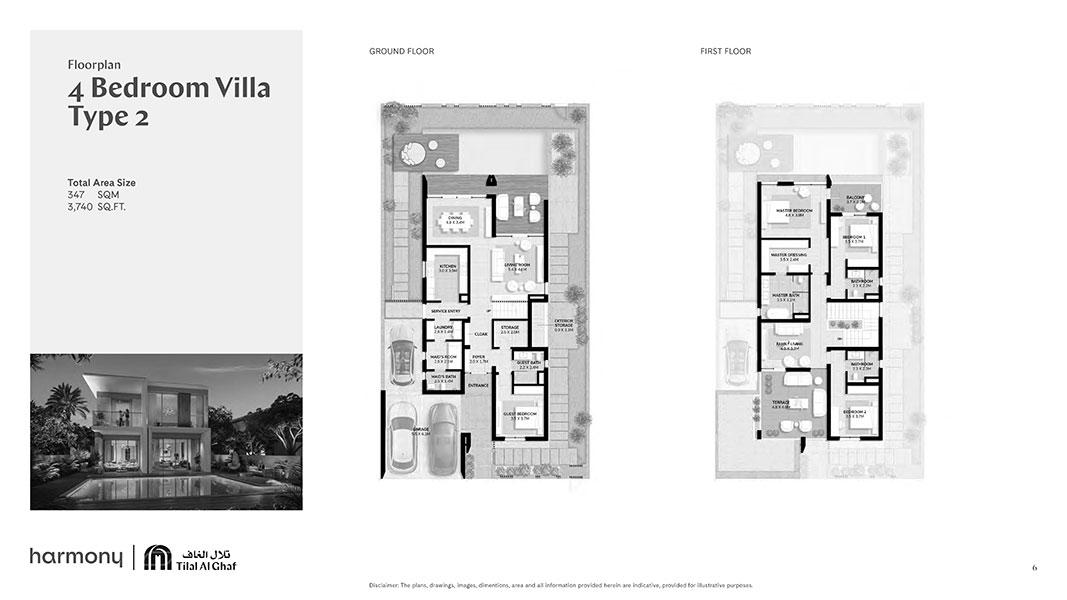 4 Bedroom Villa Type 2