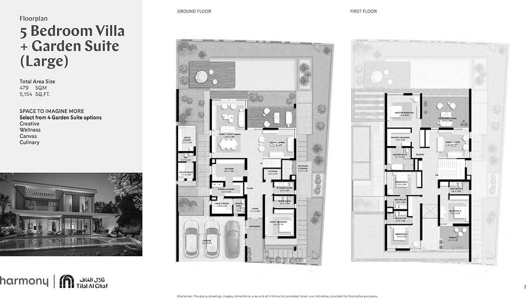 5 Bedroom Villa Garden Suite Large