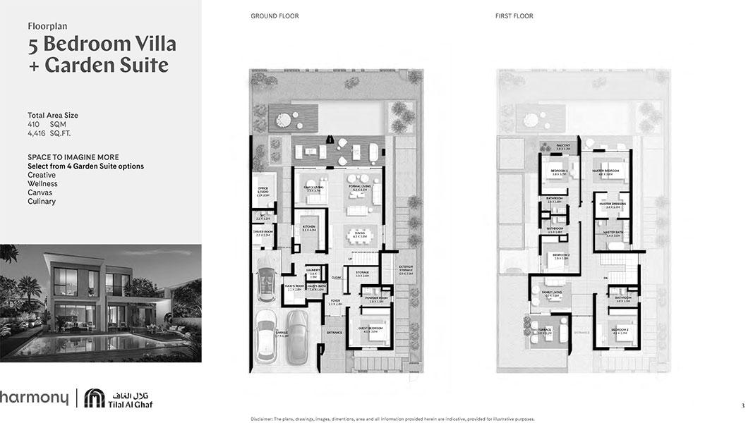 5 Bedroom Villa Garden Suite