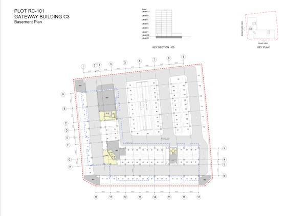 Basement Plan Gateway Building C3