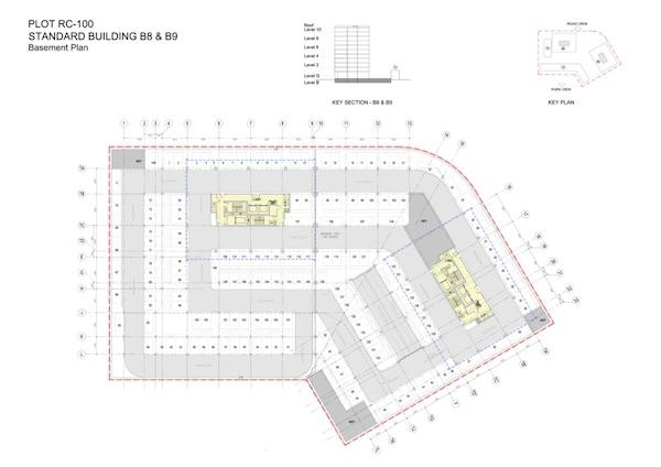 Basement Plan Standard Building B8