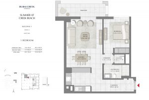 Building-1-Level-2-Unit-201-1-Bedroom-929-04SqFt