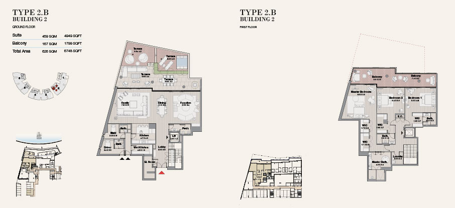 Building 2 Type 2 B Ground Floor 6748sqft