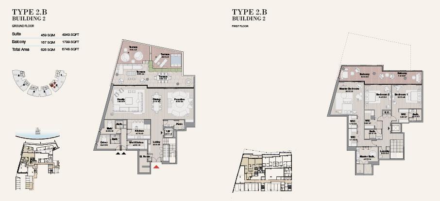 Building 2 Type 2 B Ground Floor 6748sqft