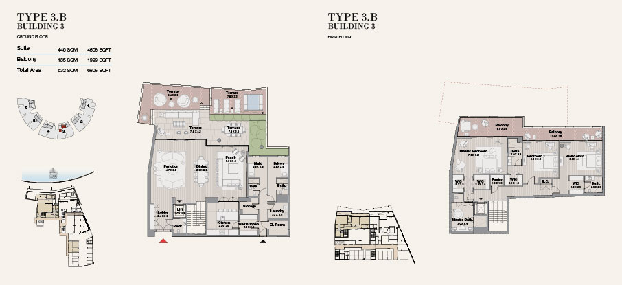 Building 3 Type 3 B Ground Floor 6808sqft