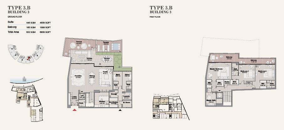 Building 3 Type 3 B Ground Floor 6808sqft