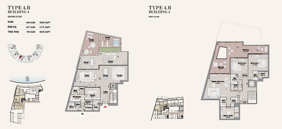 Building 4 Type 4 B Ground Floor 8038sqft