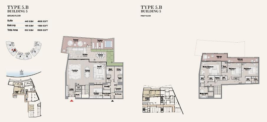 Building 5 Type 5 B Ground Floor 6808sqft