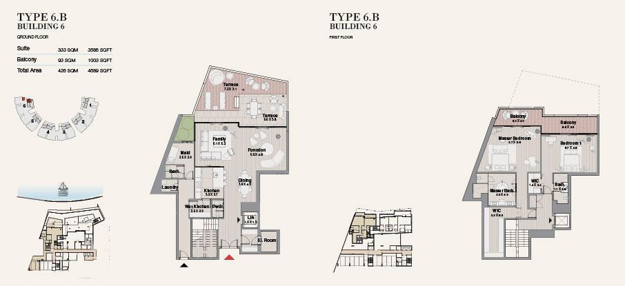 Building 6 Type 6 B Ground Floor 4589sqft