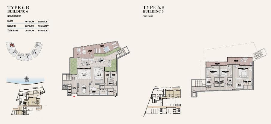 Building 6 Type 6 B Ground Floor 8120sqft
