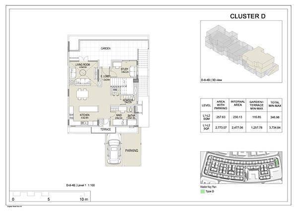 Cluster D 8 Level 1