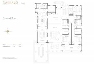 Emerald 7 Bedroom Ground Floor 4687sqft
