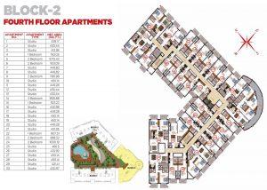 Fourth Floor Apartments Block 2