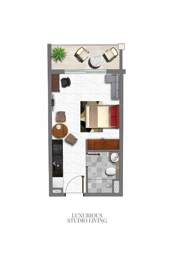 Luxurious-Studio-Living