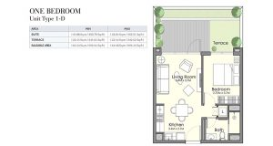 One-Bed-Unit-Type-1-D-692.55-695.13-Sq-Ft