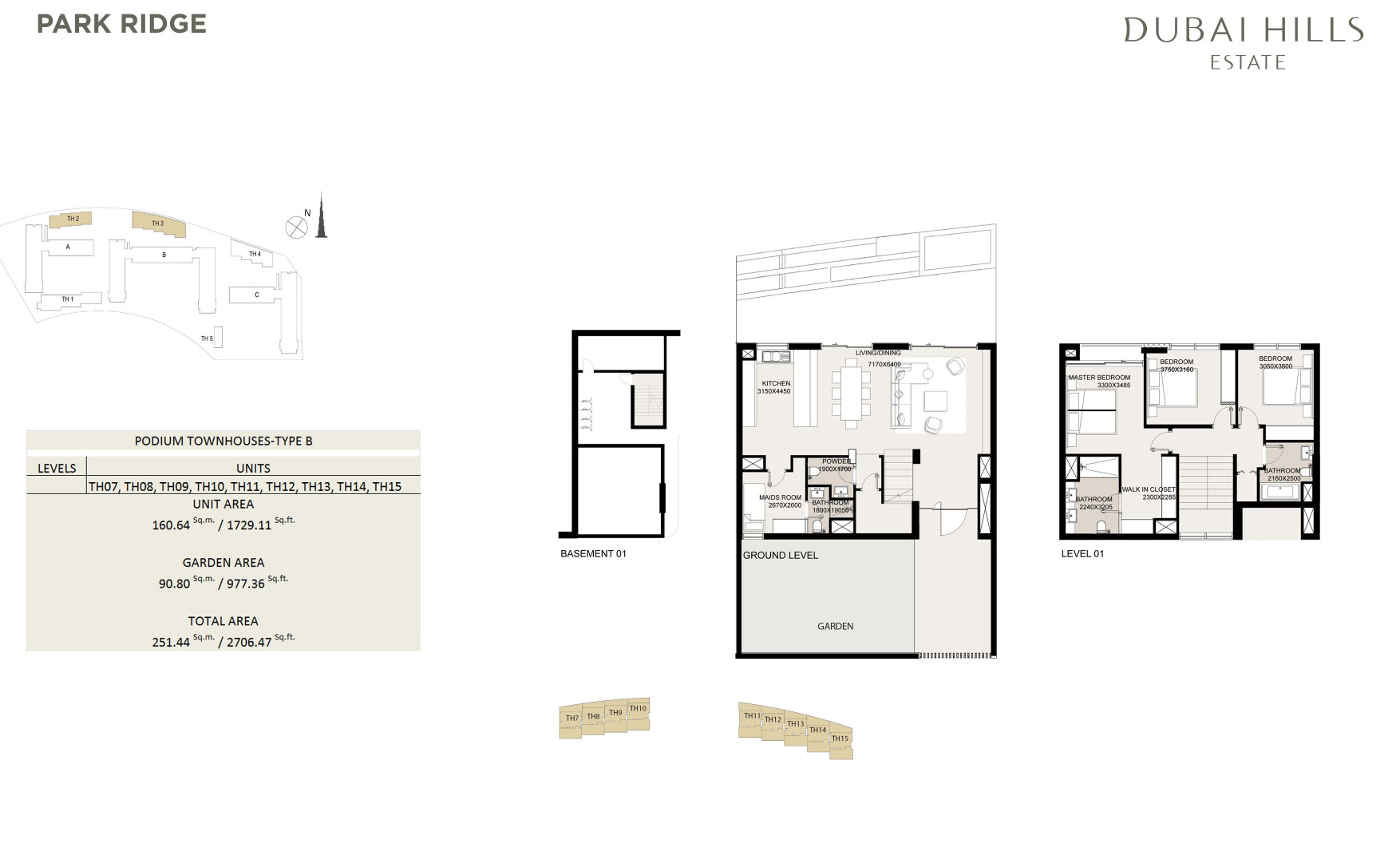 Podium Townhouses 2706 47sqft